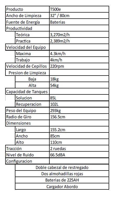 restregadora-t-500-info
